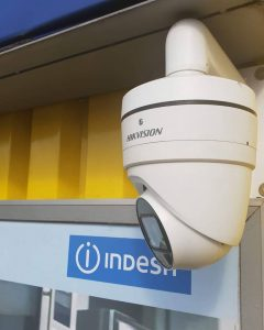 IP CCTV Camera installation at MTC Electrical Superstore