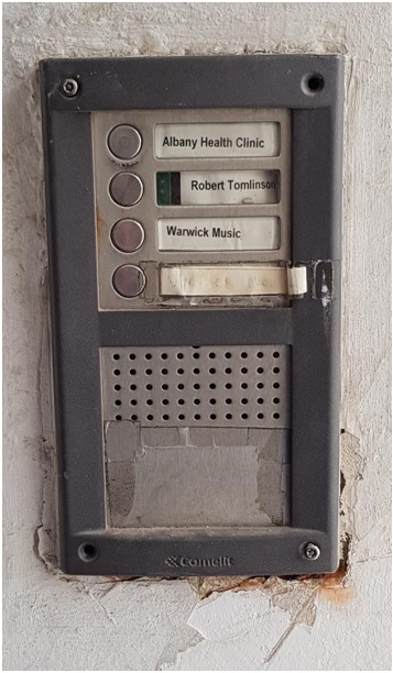 old voice only intercom system